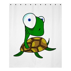 Turtle Shower Curtain 60  X 72  (medium)  by Valentinaart