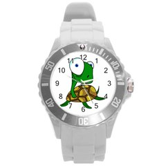 Turtle Round Plastic Sport Watch (l)