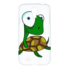Turtle Samsung Galaxy S4 I9500/i9505 Hardshell Case by Valentinaart