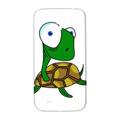 Turtle Samsung Galaxy S4 I9500/i9505  Hardshell Back Case by Valentinaart