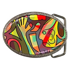 Colorful Dream Belt Buckles by Valentinaart