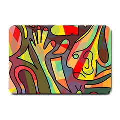 Colorful Dream Small Doormat  by Valentinaart