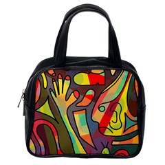 Colorful Dream Classic Handbags (one Side) by Valentinaart