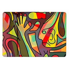 Colorful Dream Samsung Galaxy Tab 10 1  P7500 Flip Case by Valentinaart