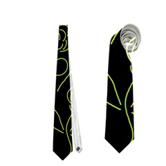 Floral Pattern Neckties (one Side)  by Valentinaart