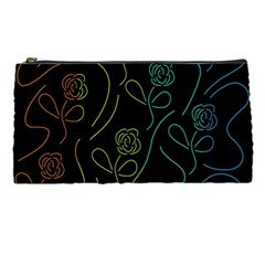 Floral Pattern Pencil Cases by Valentinaart