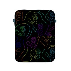 Flowers   Pattern Apple Ipad 2/3/4 Protective Soft Cases by Valentinaart