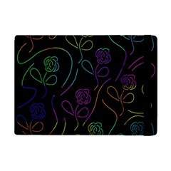 Flowers   Pattern Ipad Mini 2 Flip Cases