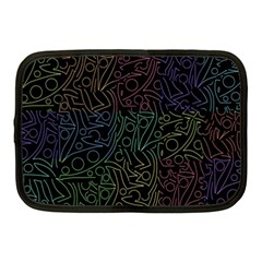 Colorful Pattern Netbook Case (medium)  by Valentinaart