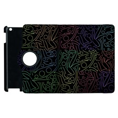 Colorful Pattern Apple Ipad 3/4 Flip 360 Case by Valentinaart