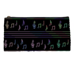 Music Pattern Pencil Cases by Valentinaart