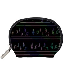 Music Pattern Accessory Pouches (small)
