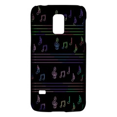 Music Pattern Galaxy S5 Mini by Valentinaart