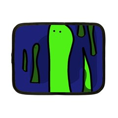 Green Snakes Netbook Case (small)