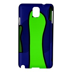 Green Snakes Samsung Galaxy Note 3 N9005 Hardshell Case by Valentinaart