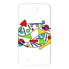 Catch Me Samsung Galaxy Mega I9200 Hardshell Back Case by Valentinaart