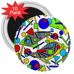 Find It 3  Magnets (10 Pack)