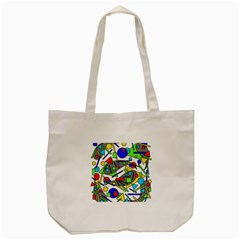 Find It Tote Bag (cream) by Valentinaart