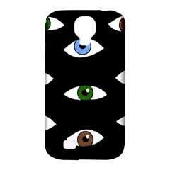 Look At Me Samsung Galaxy S4 Classic Hardshell Case (pc+silicone) by Valentinaart