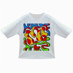 Colorful Graffiti Infant/toddler T Shirts by Valentinaart