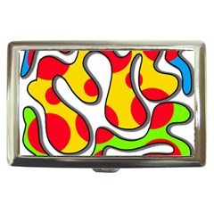 Colorful Graffiti Cigarette Money Cases by Valentinaart