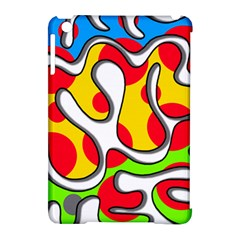 Colorful Graffiti Apple Ipad Mini Hardshell Case (compatible With Smart Cover) by Valentinaart