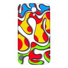 Colorful Graffiti Samsung Galaxy Mega I9200 Hardshell Back Case by Valentinaart