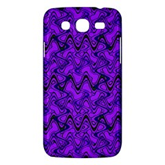 Purple Wavey Squiggles Samsung Galaxy Mega 5 8 I9152 Hardshell Case  by BrightVibesDesign