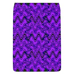 Purple Wavey Squiggles Flap Covers (l)  by BrightVibesDesign