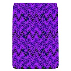 Purple Wavey Squiggles Flap Covers (s)  by BrightVibesDesign