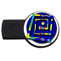 Maze Usb Flash Drive Round (4 Gb)  by Valentinaart