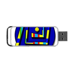 Maze Portable Usb Flash (one Side) by Valentinaart