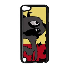 Angry Little Dog Apple Ipod Touch 5 Case (black) by Valentinaart
