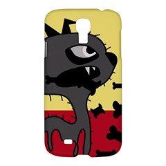 Angry Little Dog Samsung Galaxy S4 I9500/i9505 Hardshell Case by Valentinaart
