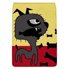 Angry Little Dog Flap Covers (l)  by Valentinaart