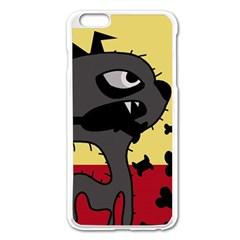 Angry Little Dog Apple Iphone 6 Plus/6s Plus Enamel White Case