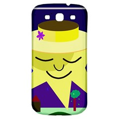 Mr  Sun Samsung Galaxy S3 S Iii Classic Hardshell Back Case by Valentinaart