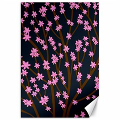 Japanese Tree  Canvas 20  X 30   by Valentinaart