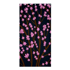 Japanese Tree  Shower Curtain 36  X 72  (stall)  by Valentinaart