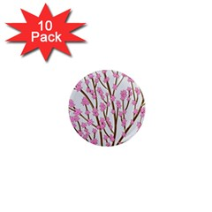 Cherry Tree 1  Mini Magnet (10 Pack)  by Valentinaart