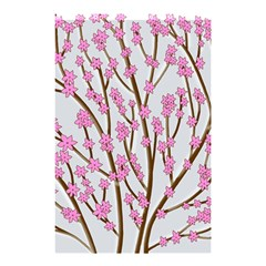 Cherry Tree Shower Curtain 48  X 72  (small)  by Valentinaart