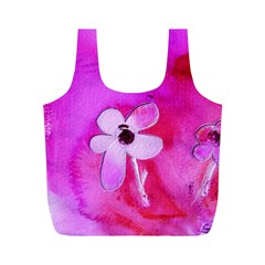 Floralpi Full Print Recycle Bags (m)  by artistpixi