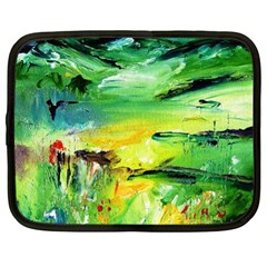 Abstract Landscape Netbook Case (xl)  by artistpixi