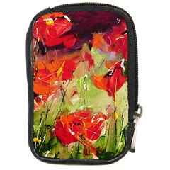 Abstract Poppys  Compact Camera Cases by artistpixi