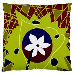 Big Bang Large Cushion Case (one Side) by Valentinaart