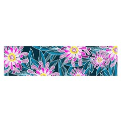 Whimsical Garden Satin Scarf (oblong) by DanaeStudio