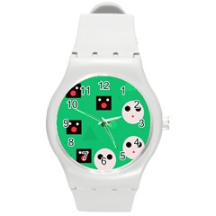 Audience  Round Plastic Sport Watch (m) by Valentinaart