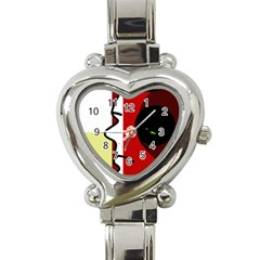 Secret Heart Italian Charm Watch by Valentinaart