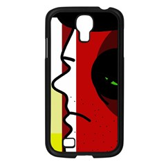 Secret Samsung Galaxy S4 I9500/ I9505 Case (black) by Valentinaart