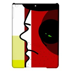 Secret Ipad Air Hardshell Cases by Valentinaart